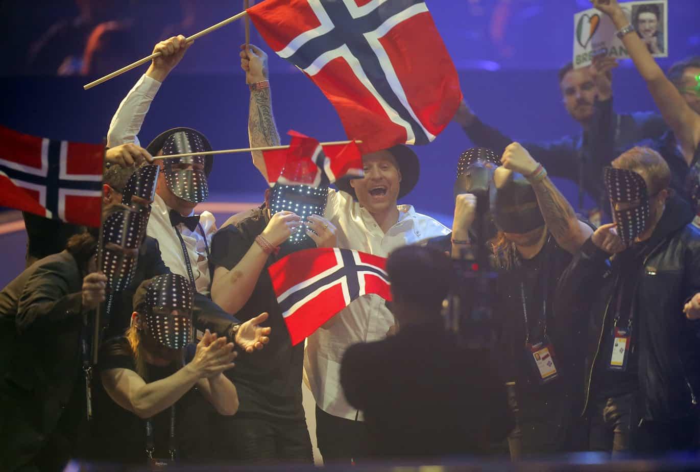 stemmeskjema eurovision 2018